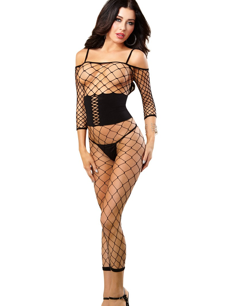 Fence Cincher Footless Bodystocking