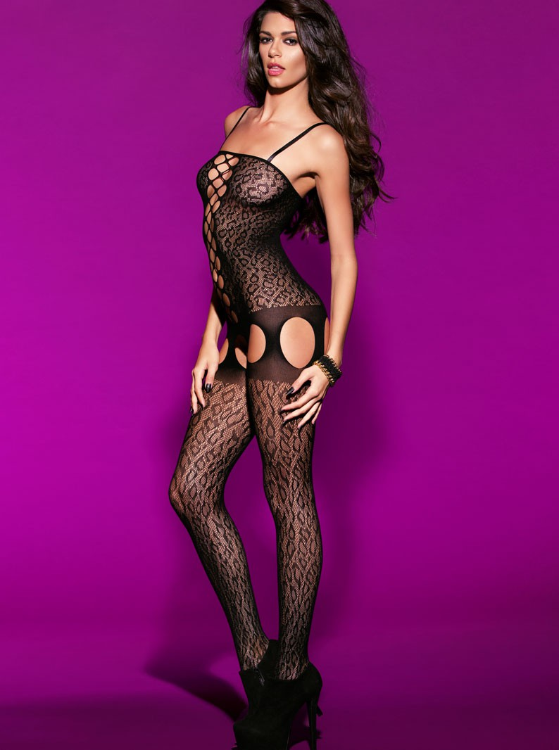 Animal Net Bodystocking
