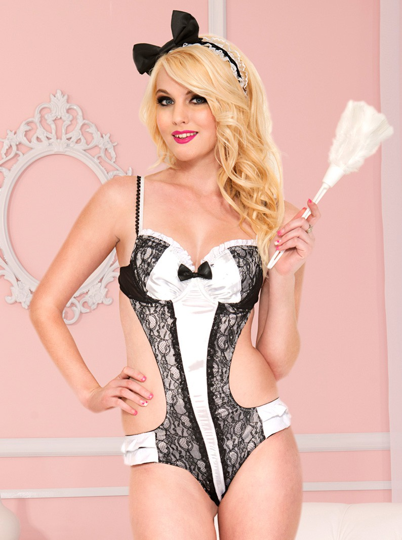 Friendly French Maid Costume Set