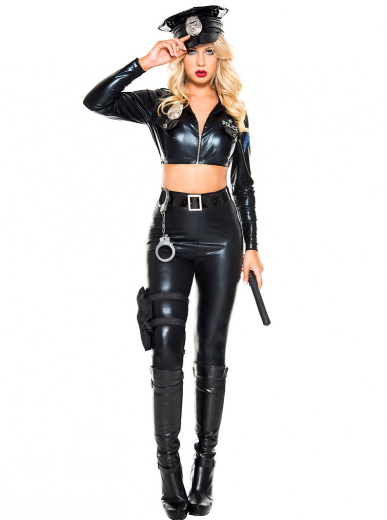 Attractive Police Costume