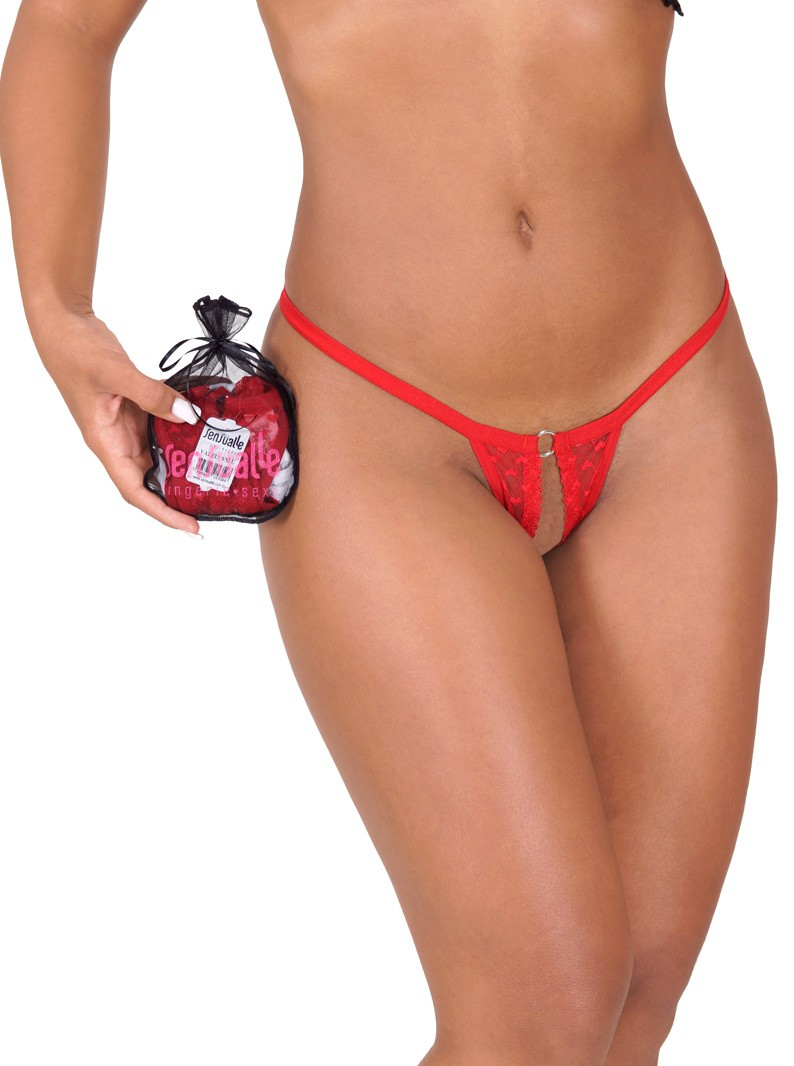 "The ""Kit Do Prazer"" Three Crotchless Panty Pack"